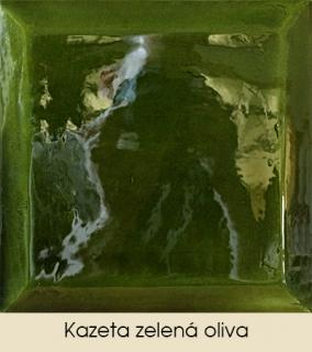 Kazeta zelená oliva