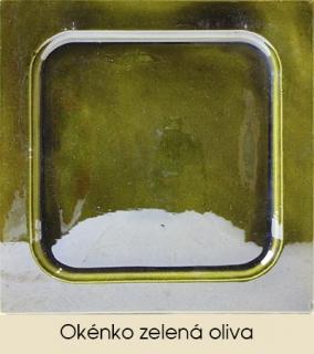 Okénko zelená oliva